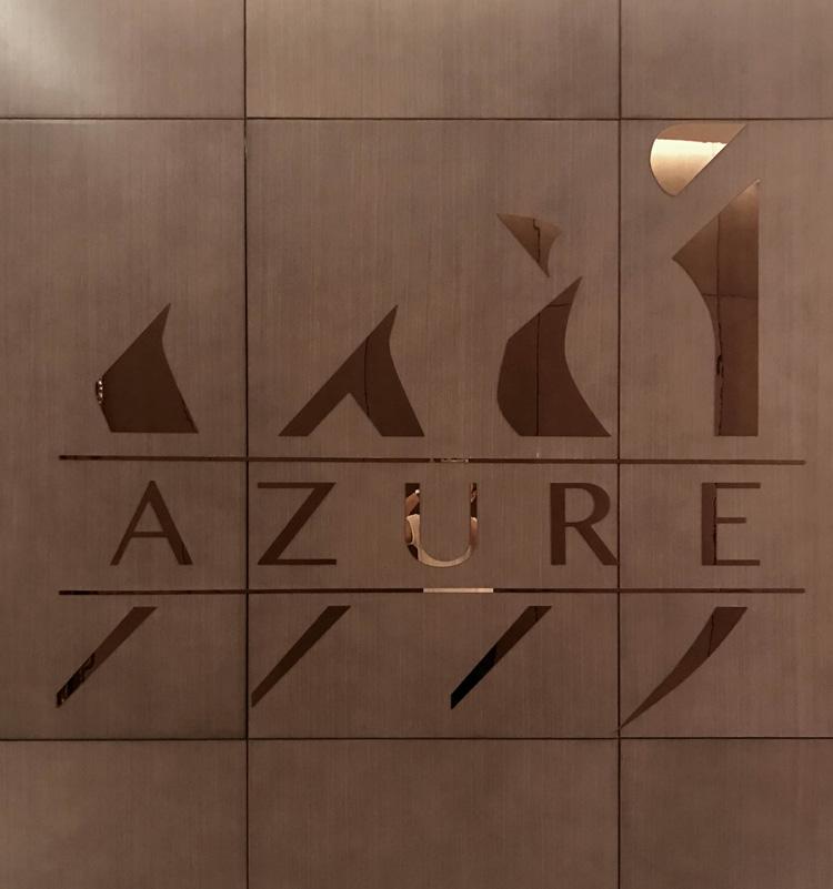Azure-Sign-restaurant